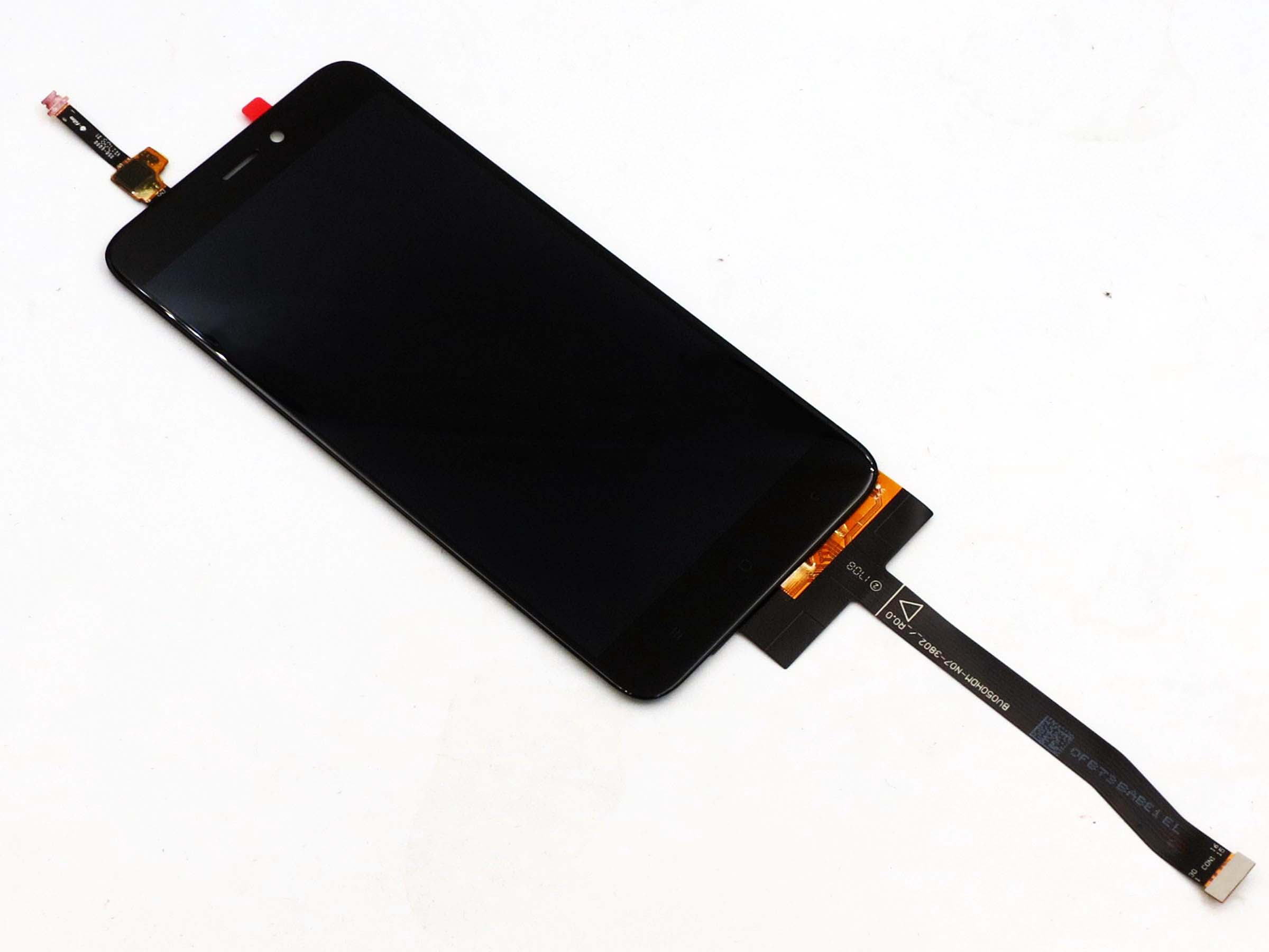 LIYUNSHU LCD Screen and Digitizer Full Assembly with Frame for Xiaomi Redmi 4X Color : Black Black
